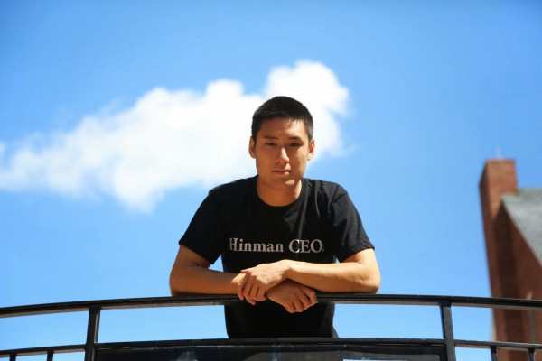 Pictured: Hinman CEOs student Jonathan C. Chen, co-founder and chief technical officer of FiscalNote.