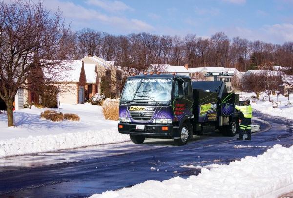 pavement corporation truck